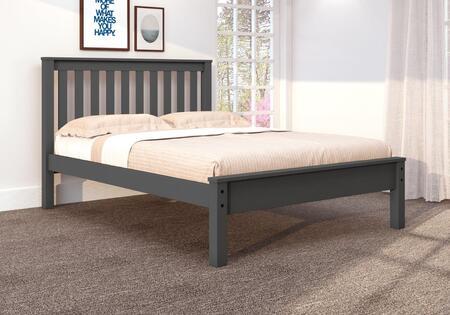500-FDG Full Contempo Bed in Dark
