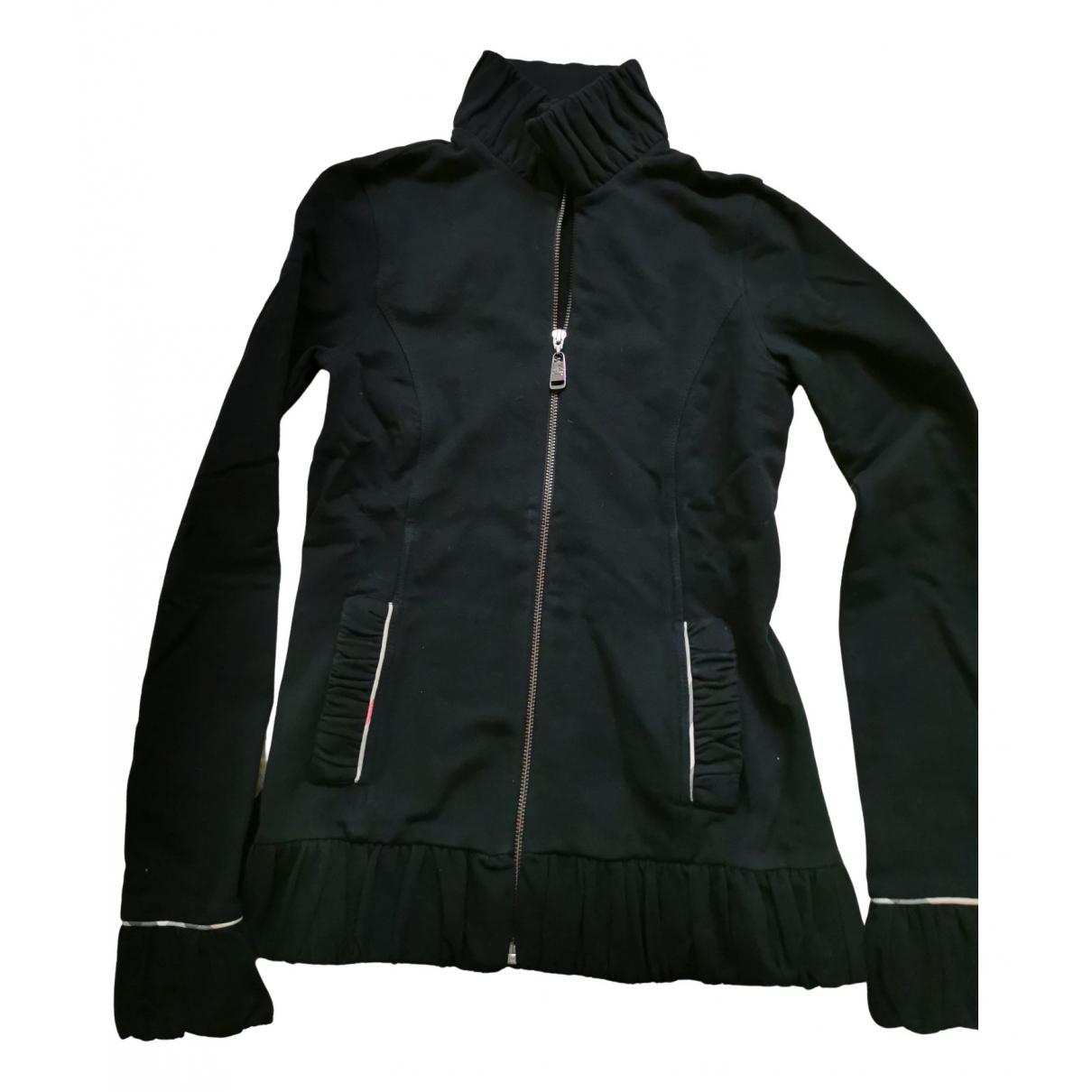 Burberry - Pull   pour femme en coton - noir