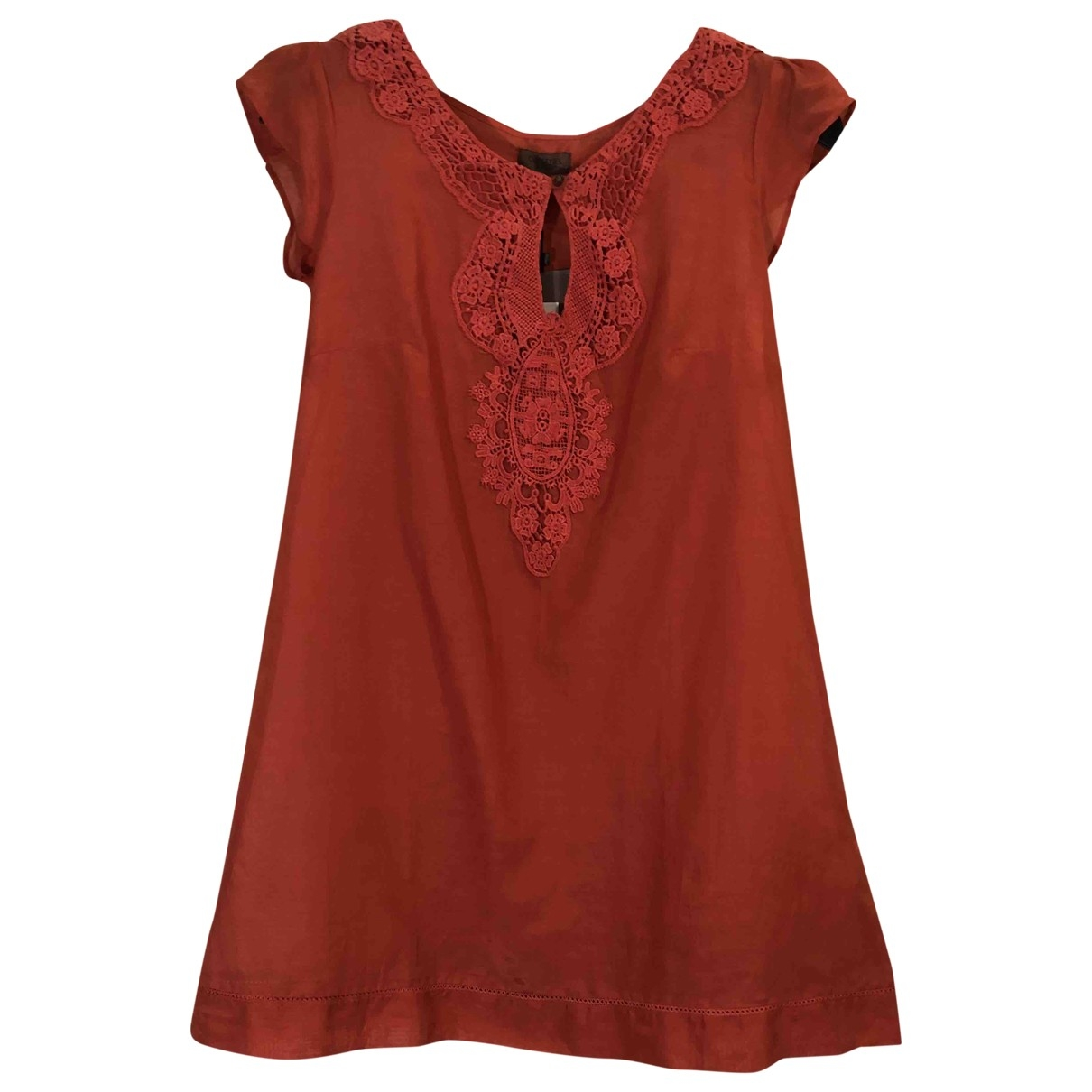 Pedro Del Hierro \N Kleid in  Rot Seide