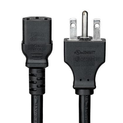 6 Pi Câble d'alimentation NEMA 6-15P à IEC C13 - 14AWG SJT cULus CSA -PrimeCables®