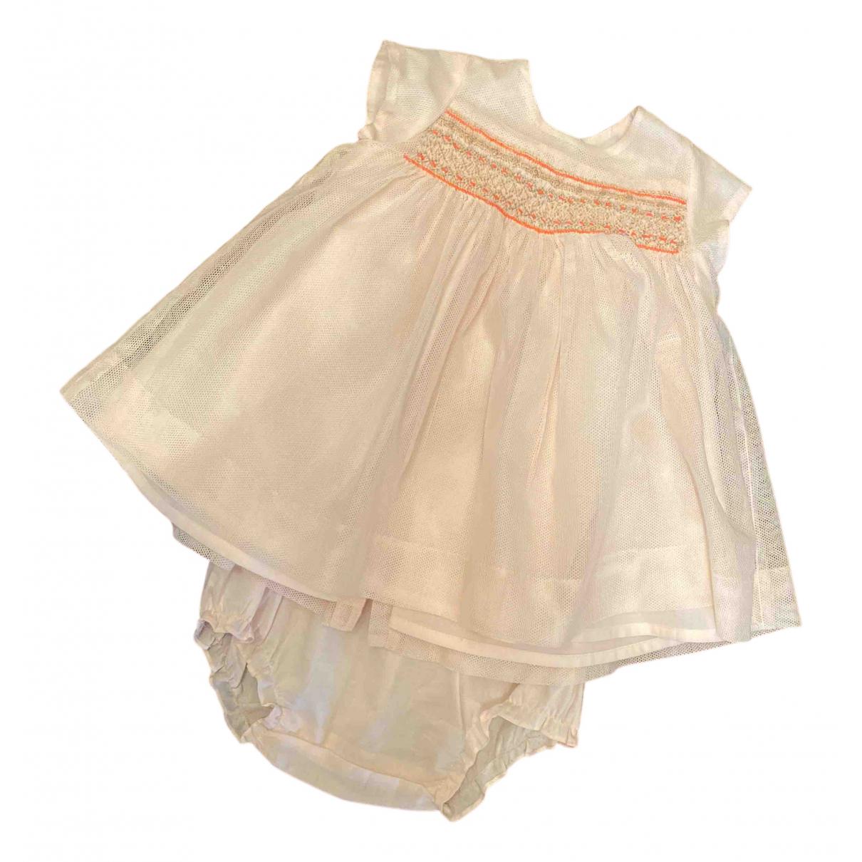 Bonpoint - Les ensembles   pour enfant en coton - rose