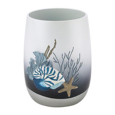 Avanti Blue Lagoon Waste Basket, One Size , Multiple Colors