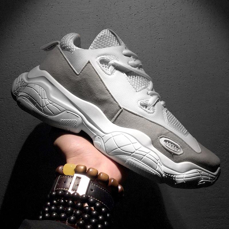 Ericdress Patchwork Round Toe Men's Chic Sneakers