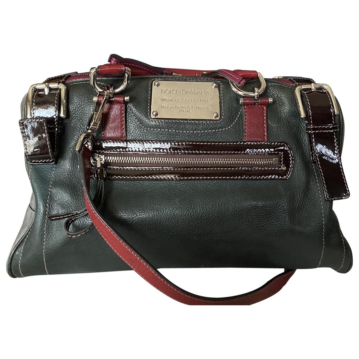 Dolce & Gabbana \N Green Leather handbag for Women \N