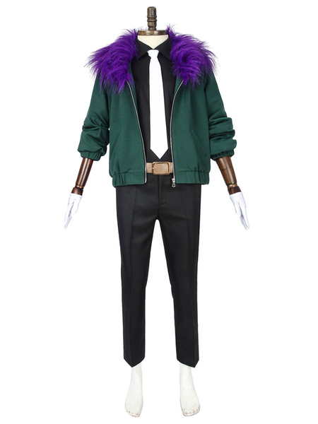Milanoo My Hero Academia Overhaul Chisaki Kai Uniform Cloth Cosplay Costume Japanese Anime