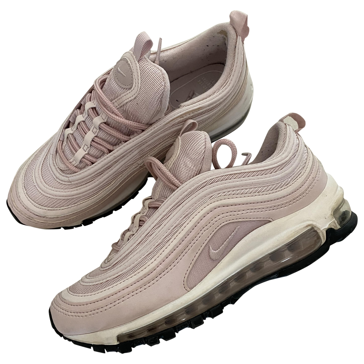 Nike Air Max 97 Pink Rubber Trainers for Women 36.5 EU