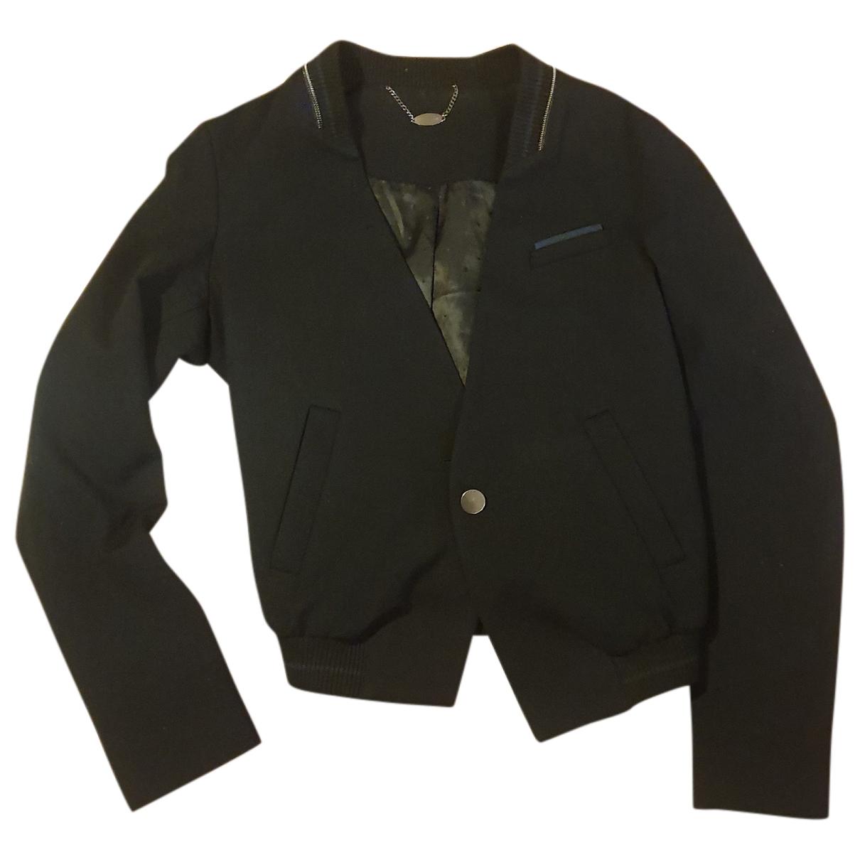 Ikks - Veste   pour femme en coton - noir