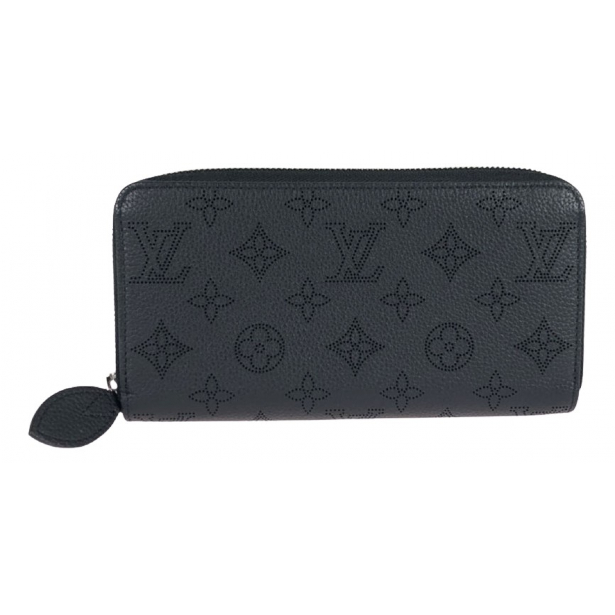 Louis Vuitton Mahina Black Leather wallet for Women N