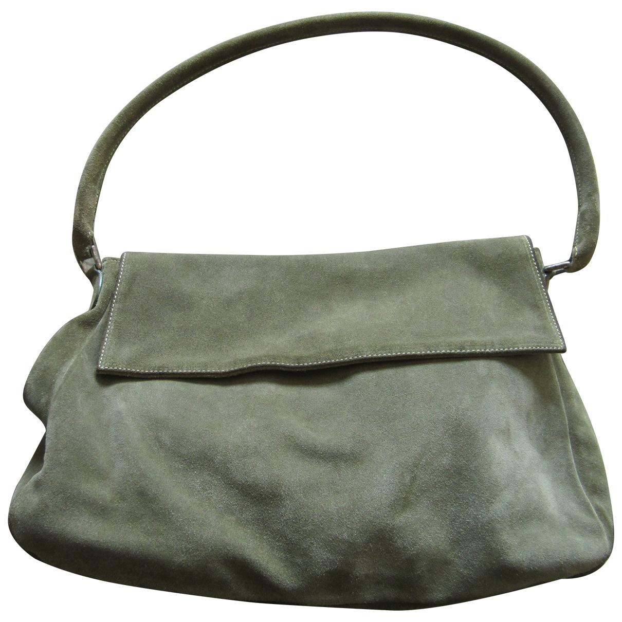 Marella \N Green Suede handbag for Women \N
