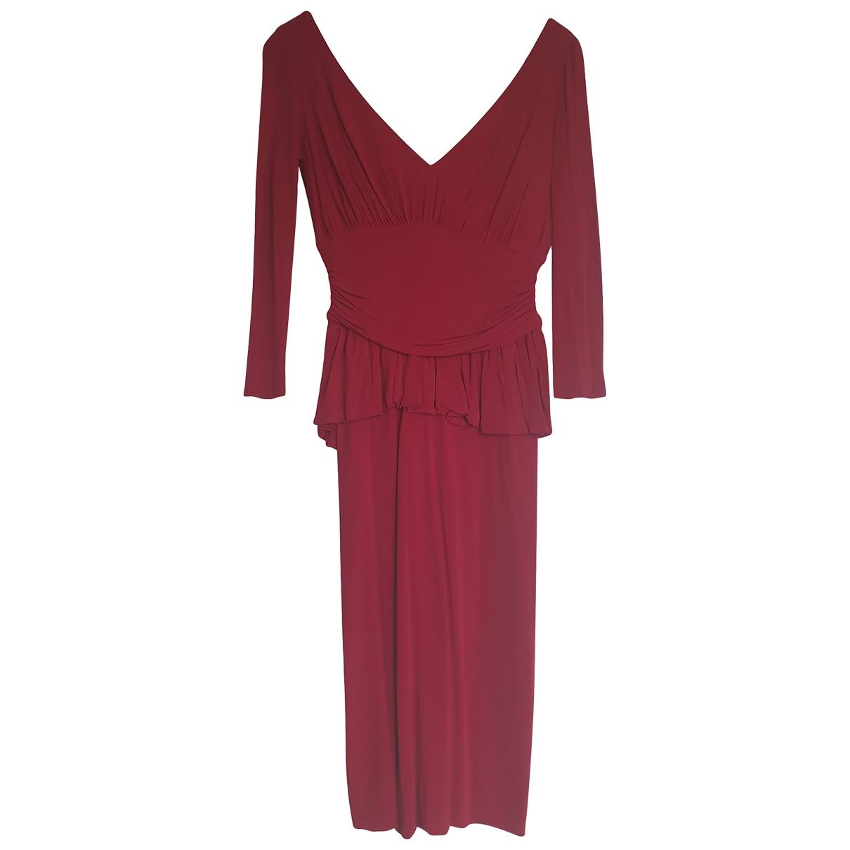 Alexander Mcqueen \N Red dress for Women 40 IT