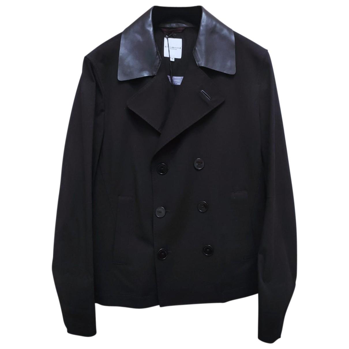 Costume National - Vestes.Blousons   pour homme en coton - noir