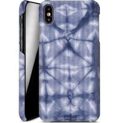 Apple iPhone XS Max Smartphone Huelle - Tie Dye 2 Navy von Amy Sia