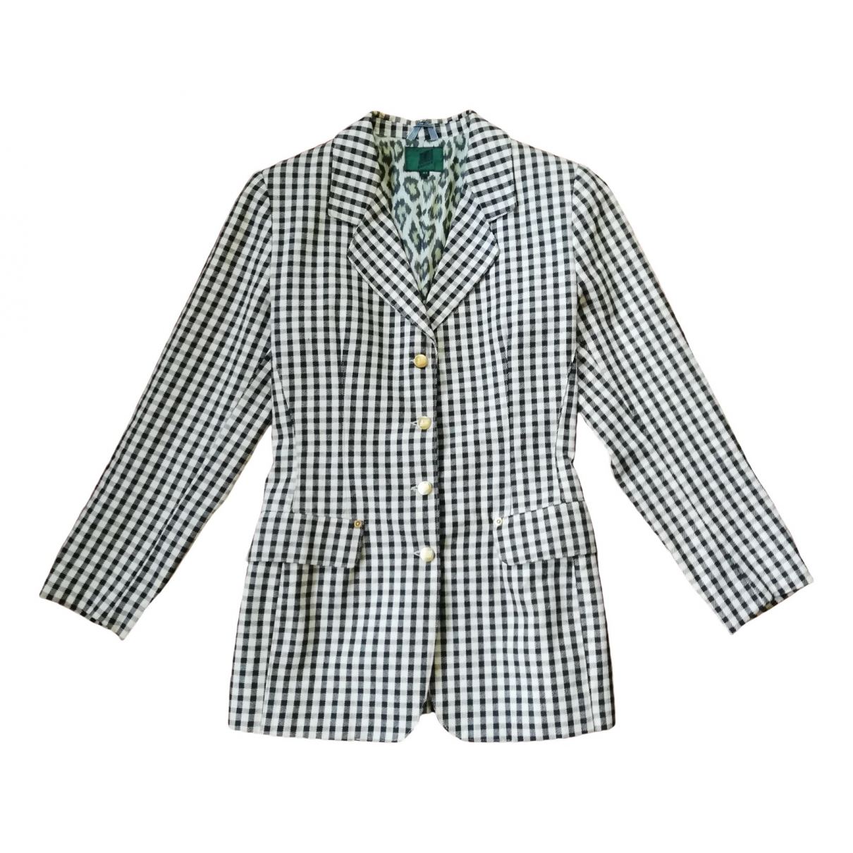 Gaultier Junior \N Ecru Cotton jacket for Women 42 IT