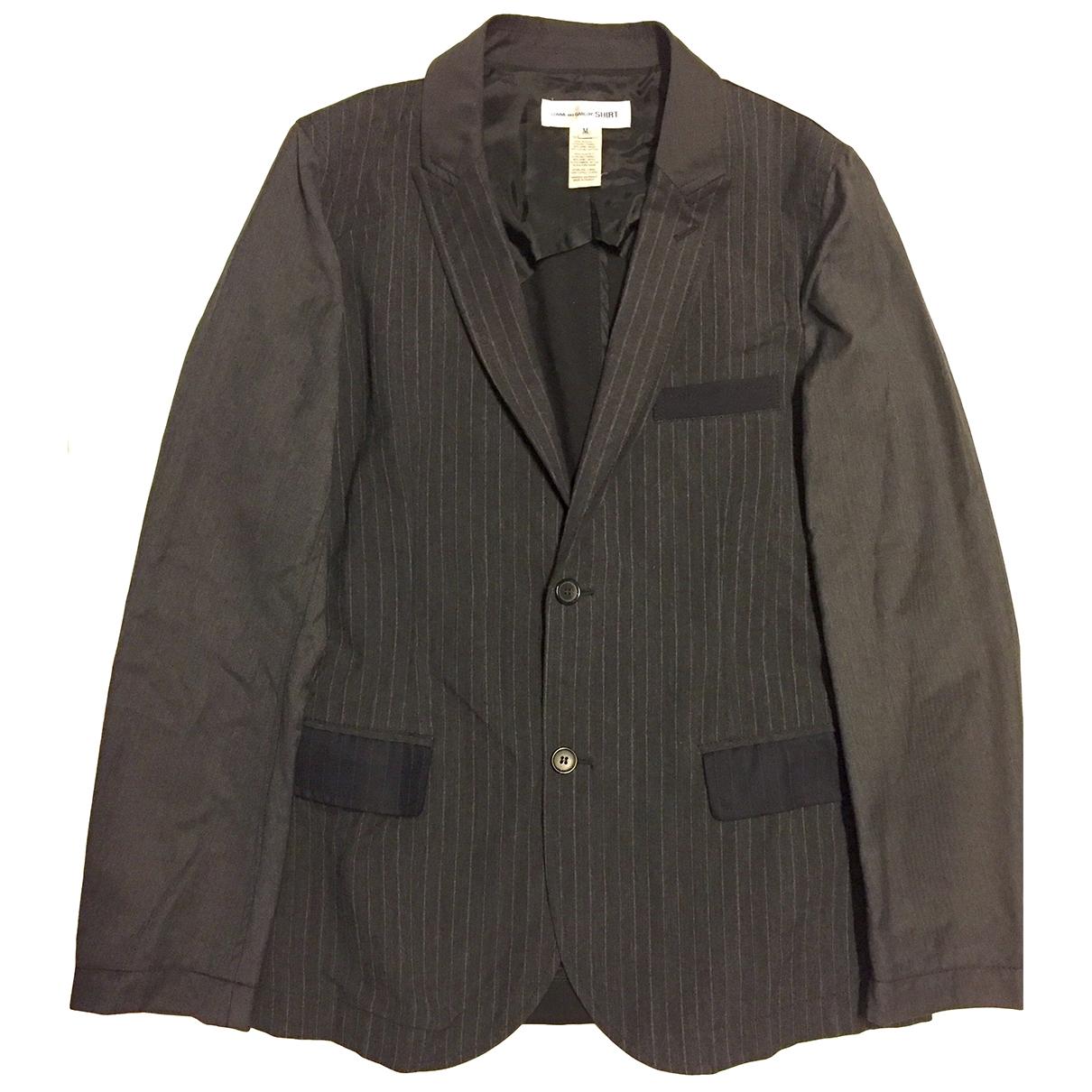 Comme Des Garcons \N Anthracite Wool jacket  for Men M International