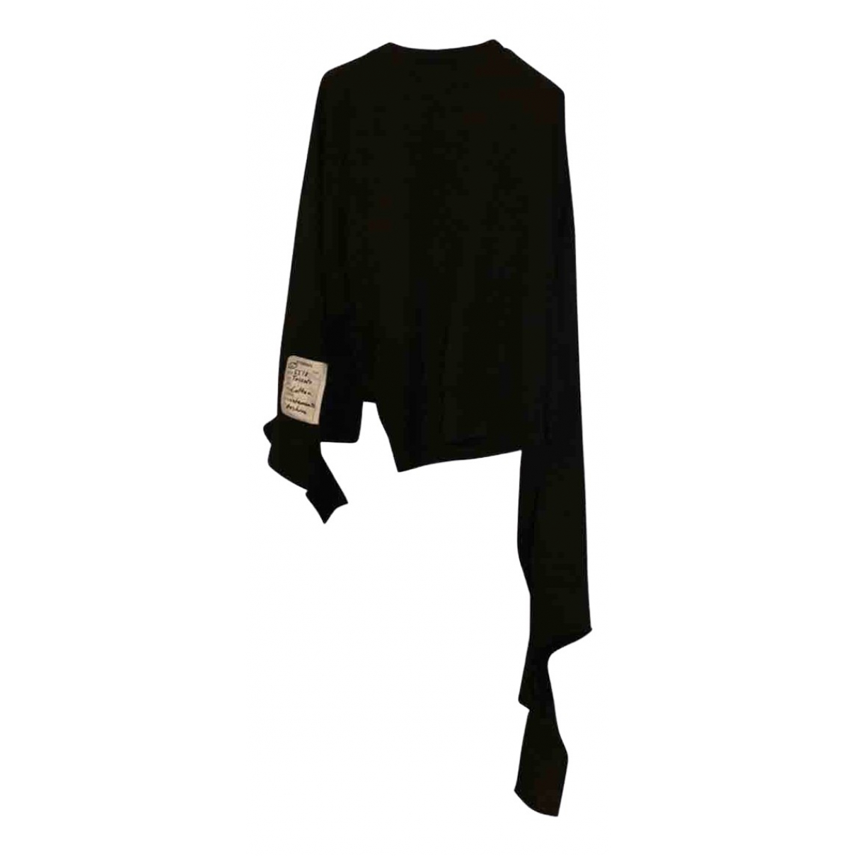 Vetements \N Top in  Schwarz Baumwolle