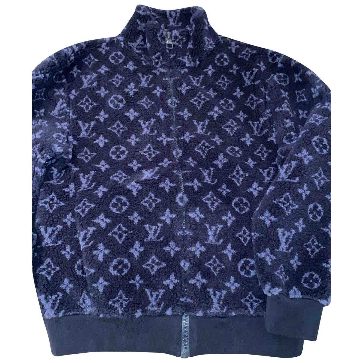 Louis Vuitton - Vestes.Blousons   pour homme en autre - bleu