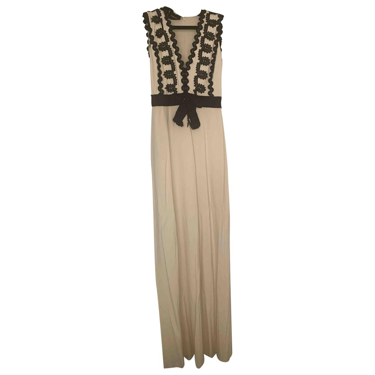 Gucci \N Kleid in  Weiss Baumwolle