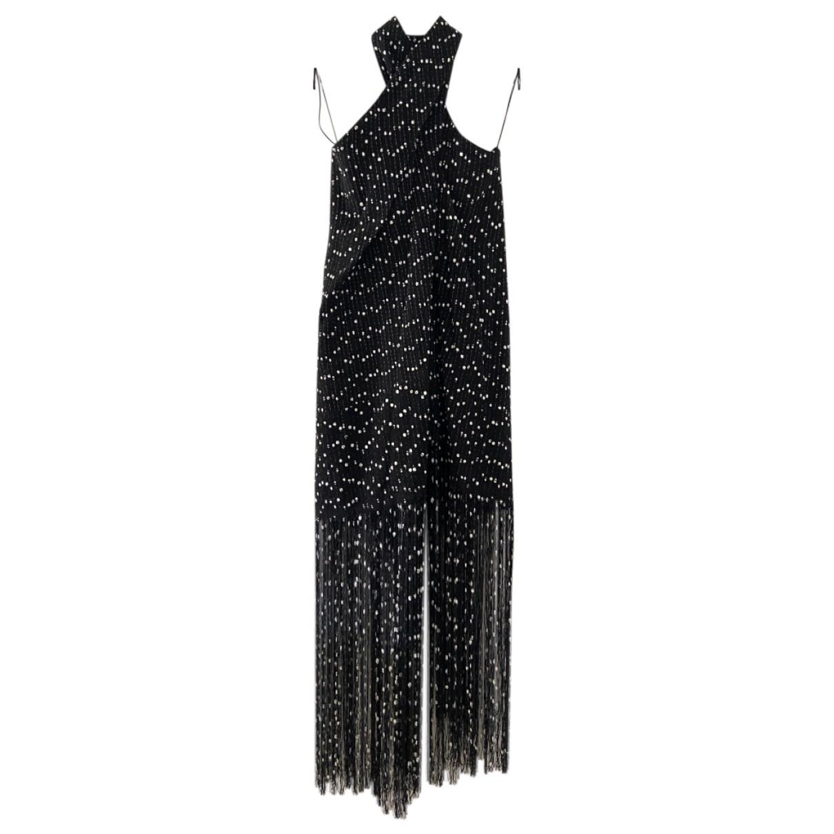 Jacquemus La Riviera Kleid in  Schwarz Tweed