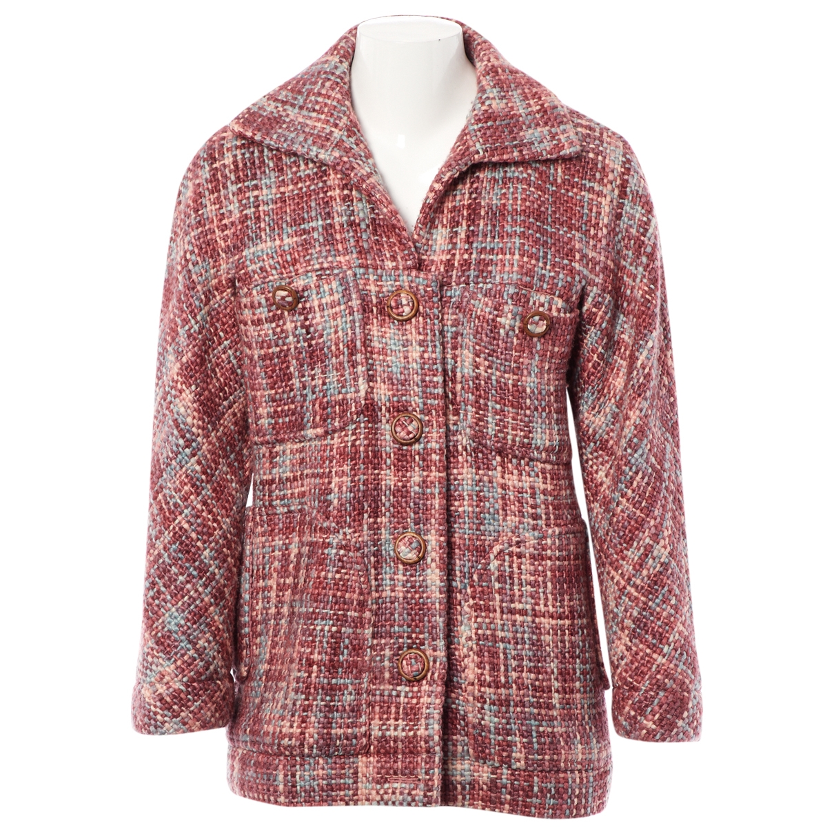 Chanel \N Pink Wool jacket for Women 38 FR