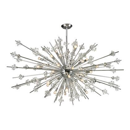 11754/31 Starburst Collection 31 Light chandelier in Polished