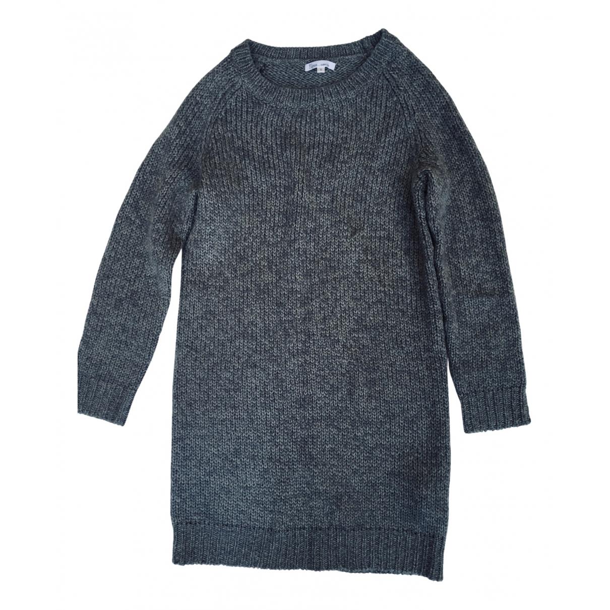 Les Petites - Robe   pour femme en laine - gris