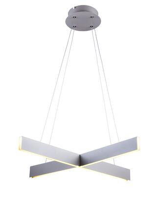 MV04 LED Lighting with Metal and Acrylic Materials and 28 Watts in Gery
