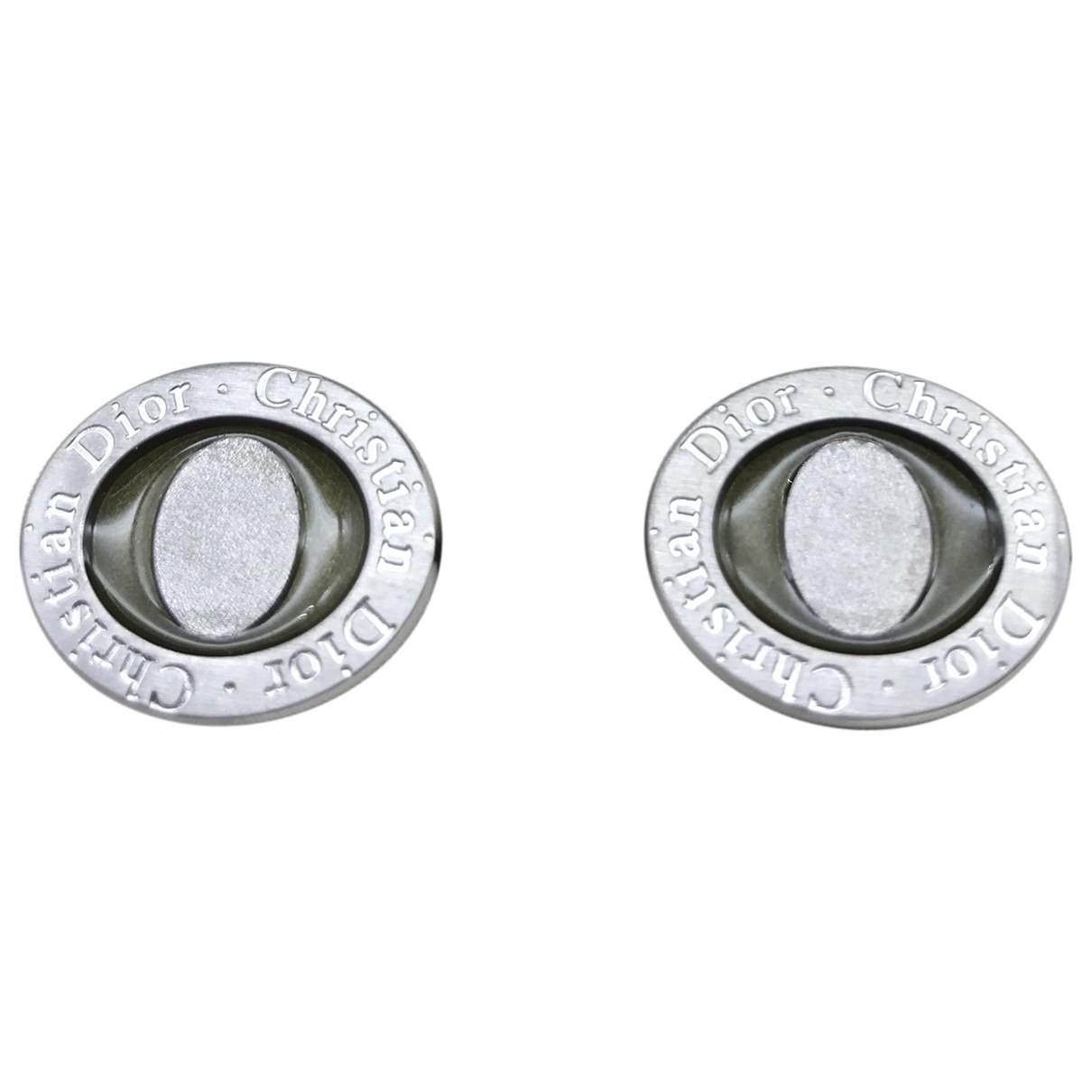 Dior \N Manschettenknopfe in  Silber Metall