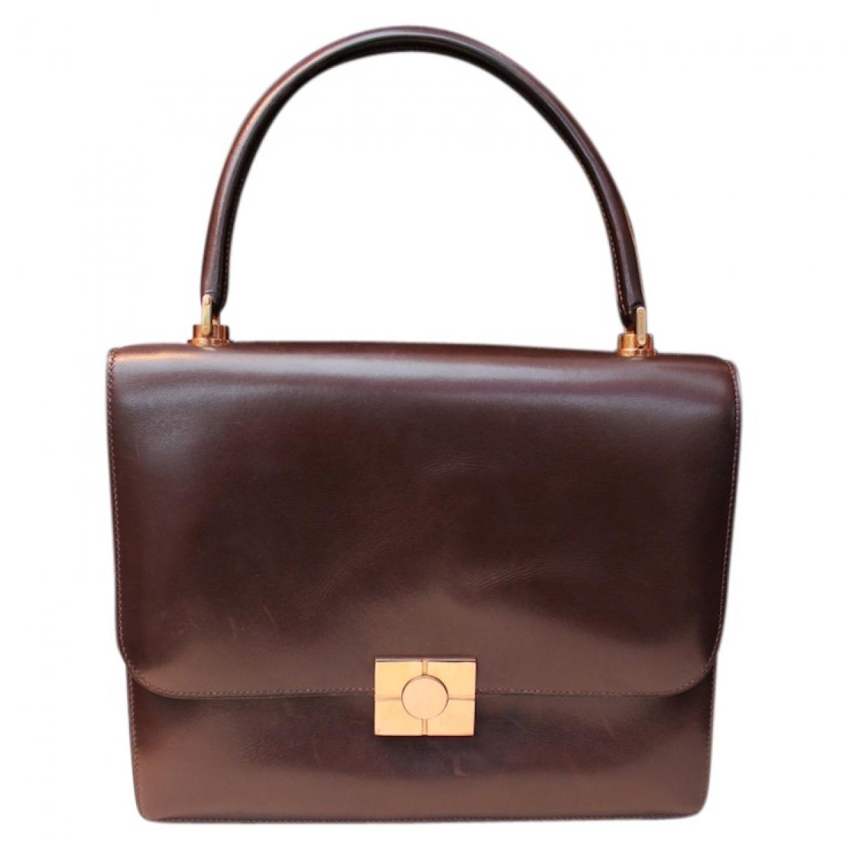 Hermès \N Brown Leather handbag for Women \N