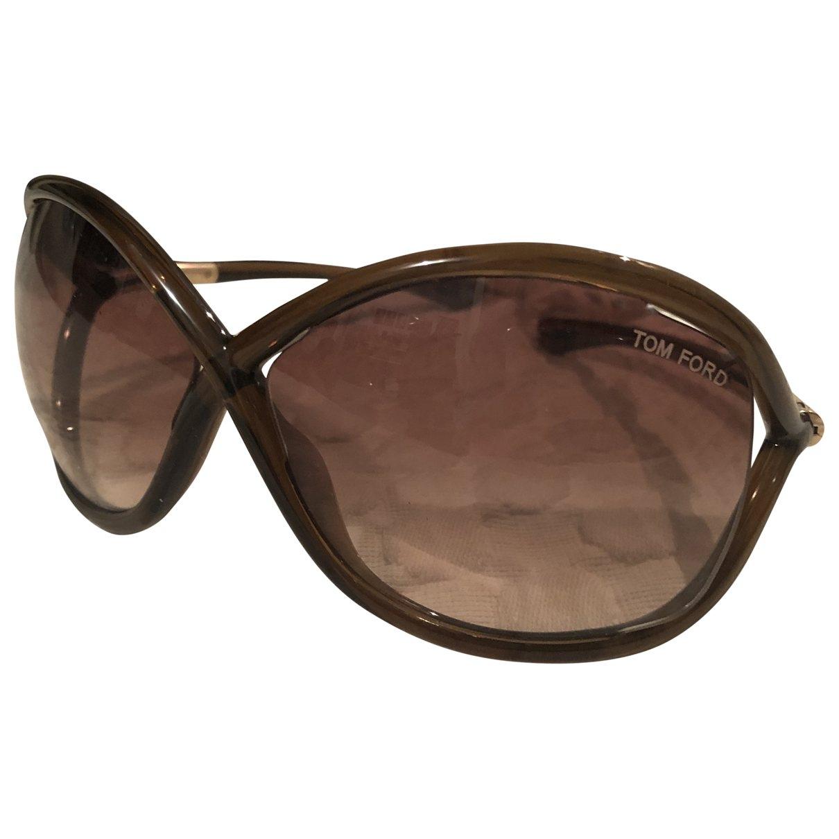 Tom Ford \N Sonnenbrillen in  Braun Kunststoff