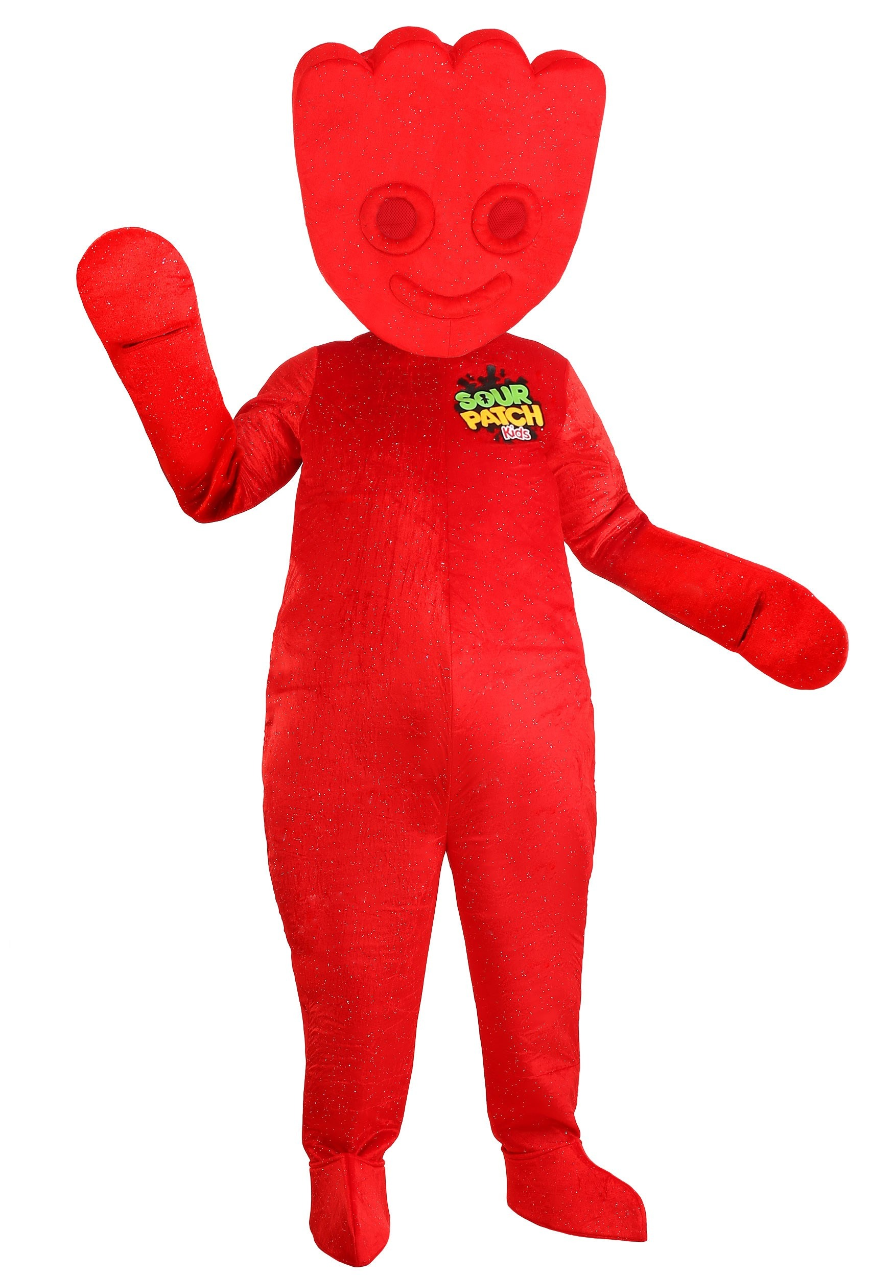 Red Sour Patch Kids Costume for Adults