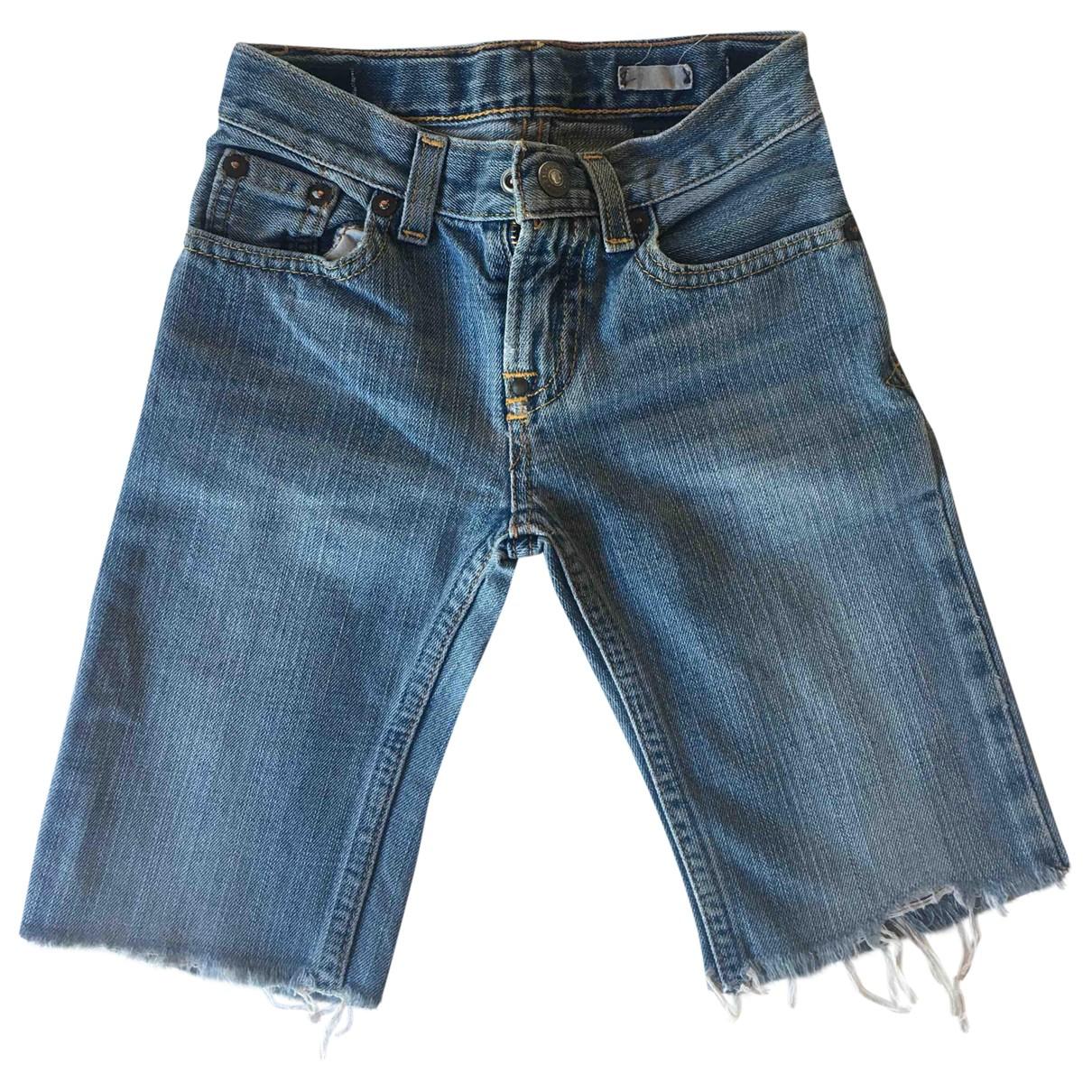 Polo Ralph Lauren - Short   pour enfant en denim - bleu