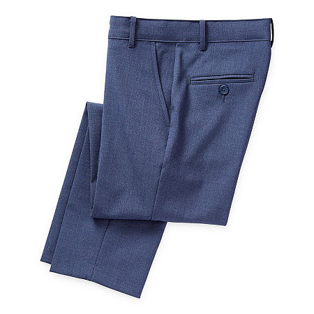 Van Heusen Flex Little & Big Boys Suit Pants, 4 , Blue