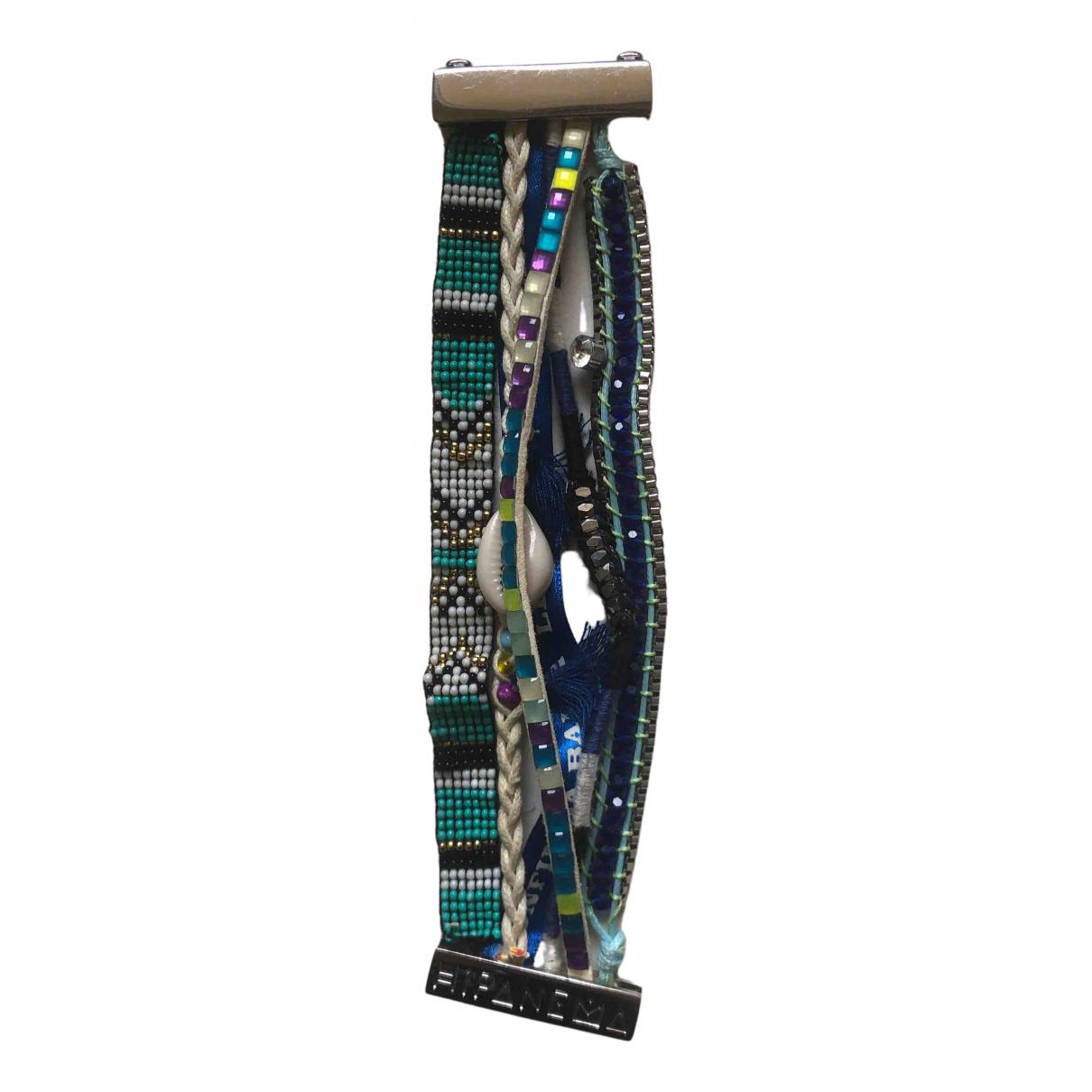 Hipanema - Bracelet   pour femme en metal - bleu