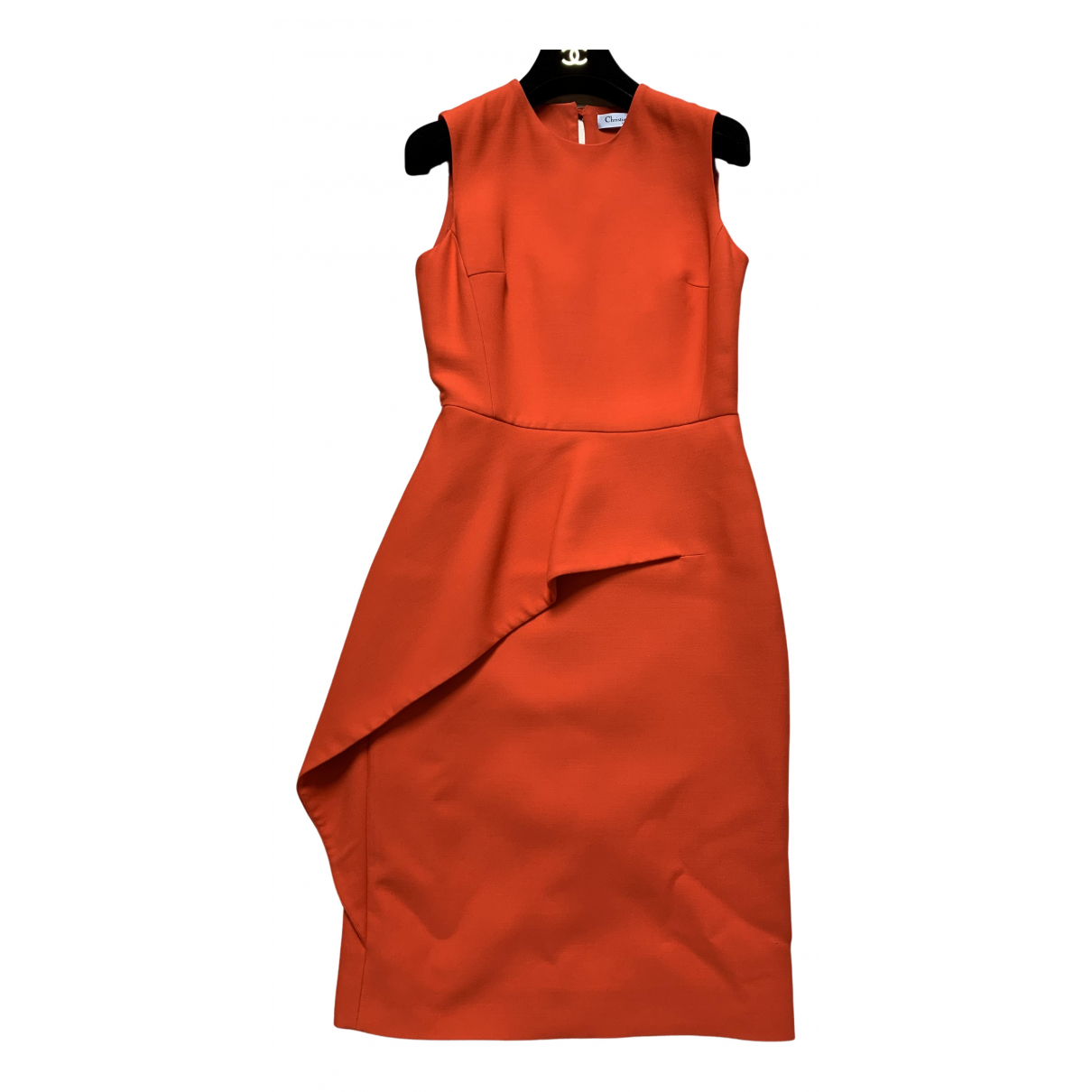 Dior \N Kleid in  Orange Wolle