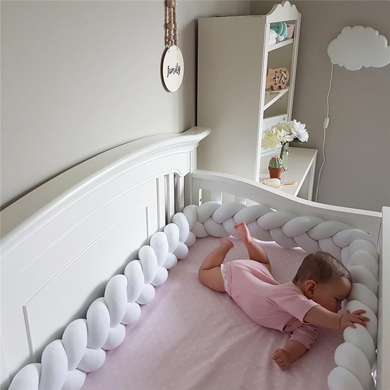 Braided Long Strip Knot Ball Creative and Concise Children's Room Decoration