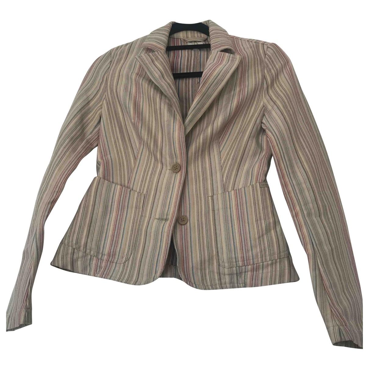 Calvin Klein - Veste   pour femme en coton - beige
