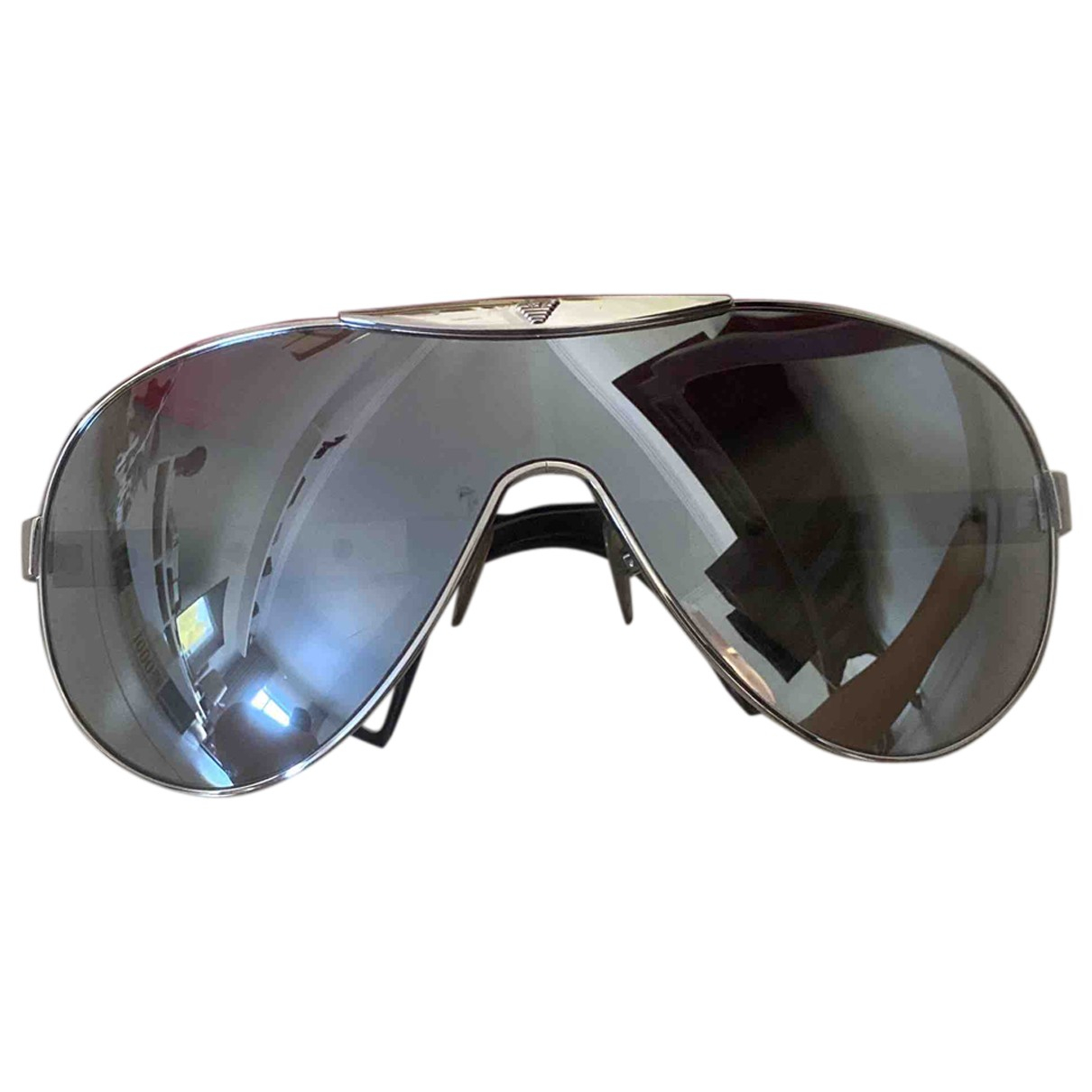 Emporio Armani \N Silver Metal Sunglasses for Women \N