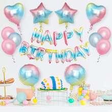 1 set globo decorativo de cumpleaños