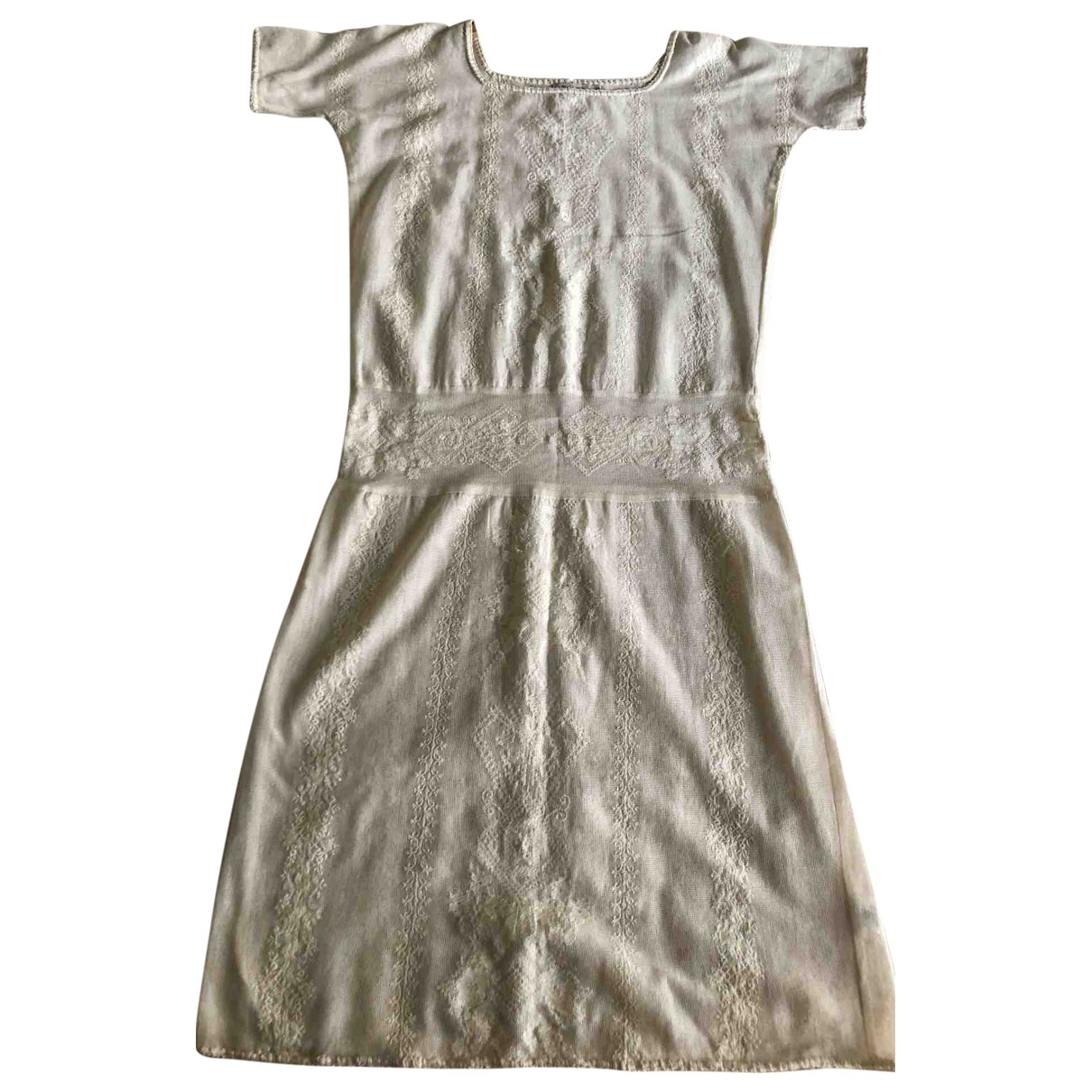 Mes Demoiselles ... \N Beige Cotton dress for Women 36 FR