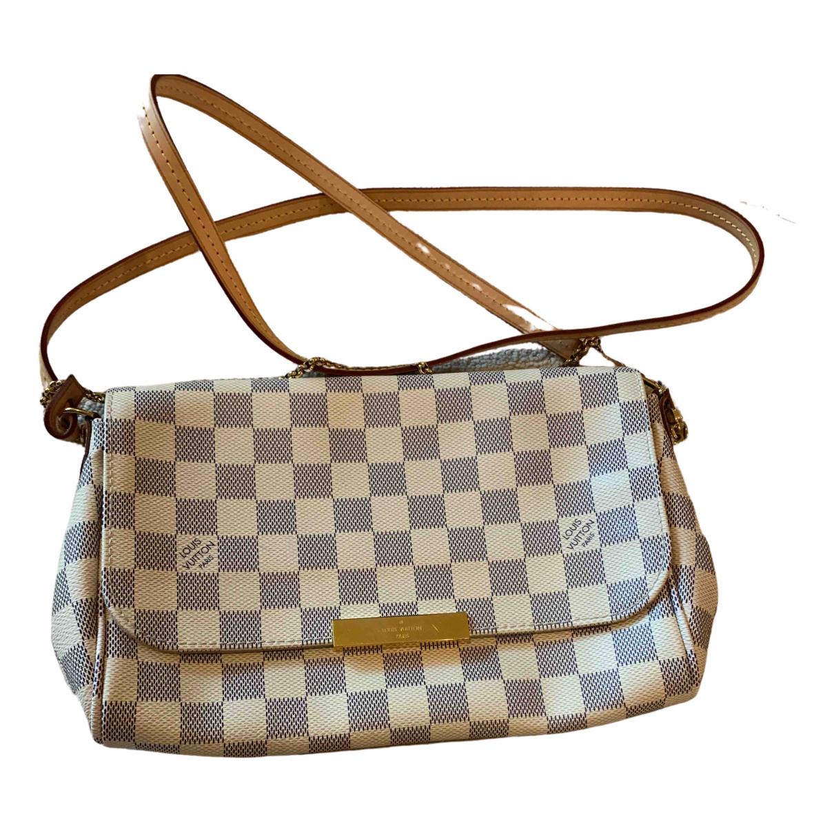 Louis Vuitton Favorite Beige Cloth handbag for Women \N