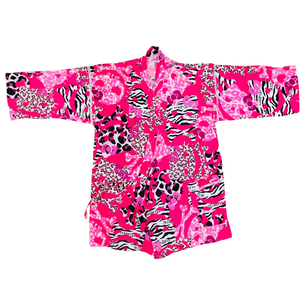 Non Signé / Unsigned \N Pink Cotton  top for Women M International