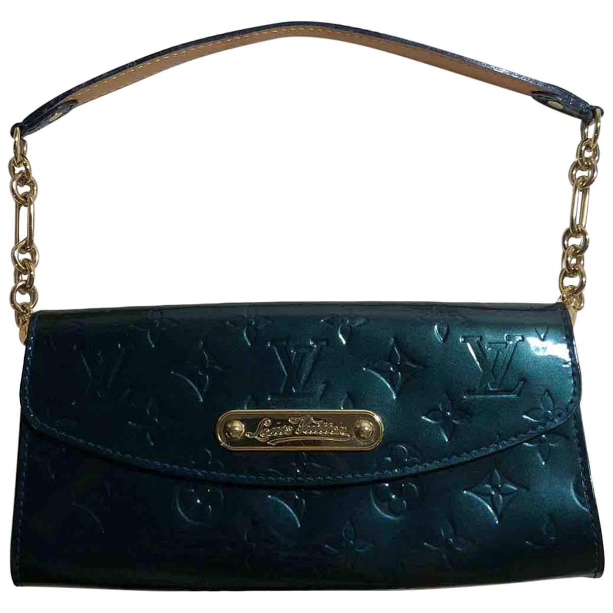 Louis Vuitton - Pochette Sunset Boulevard pour femme en cuir verni - vert