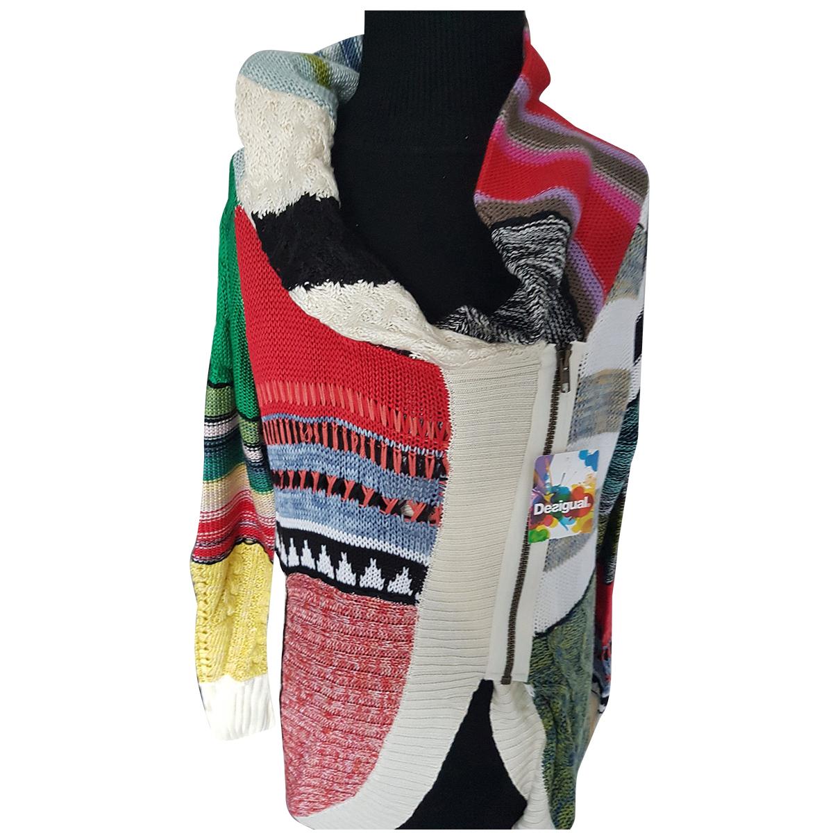 Desigual - Pull   pour femme - multicolore