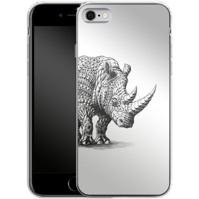 Apple iPhone 6s Silikon Handyhuelle - Rhinoceros von BIOWORKZ