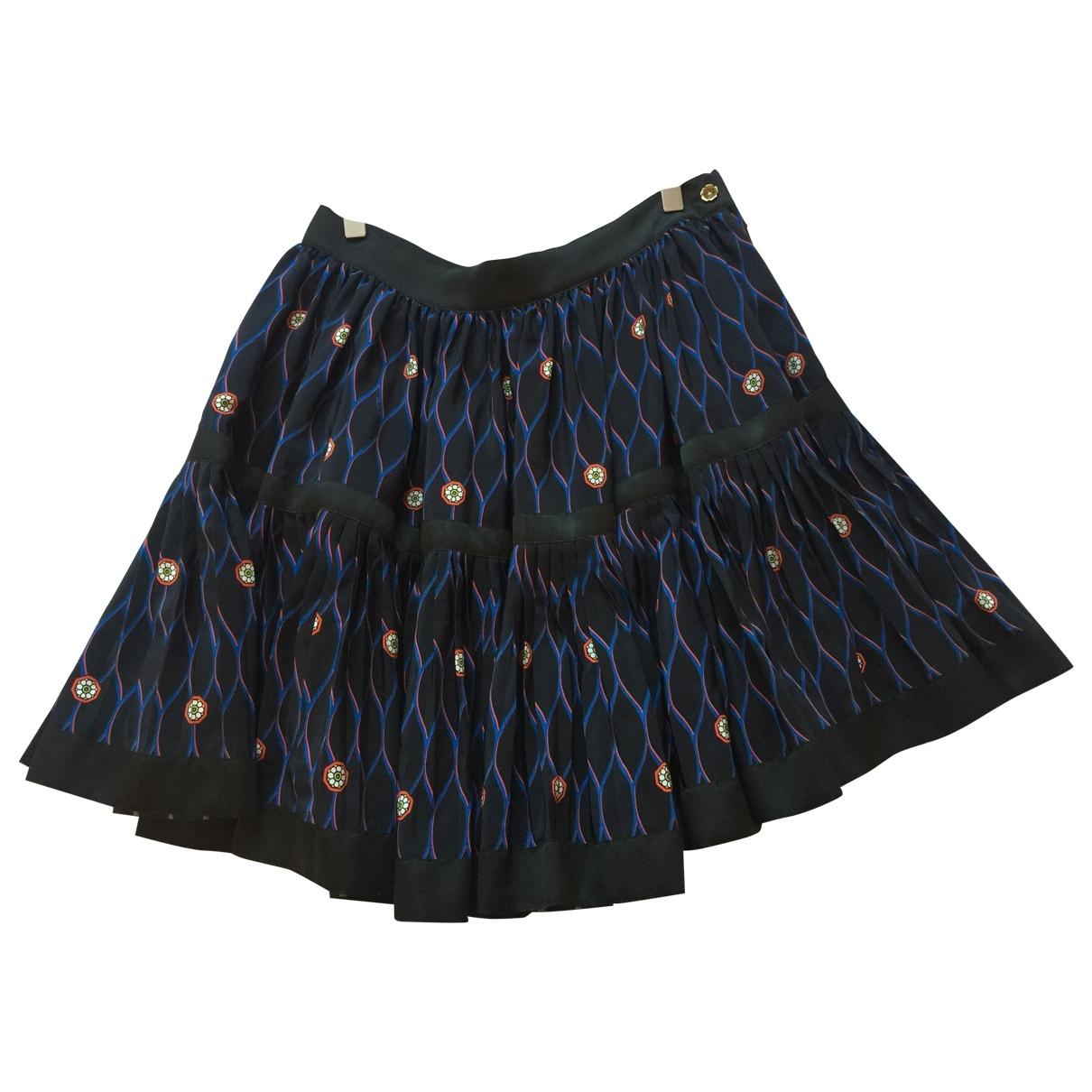 Kenzo X H&m - Jupe   pour femme en soie - multicolore