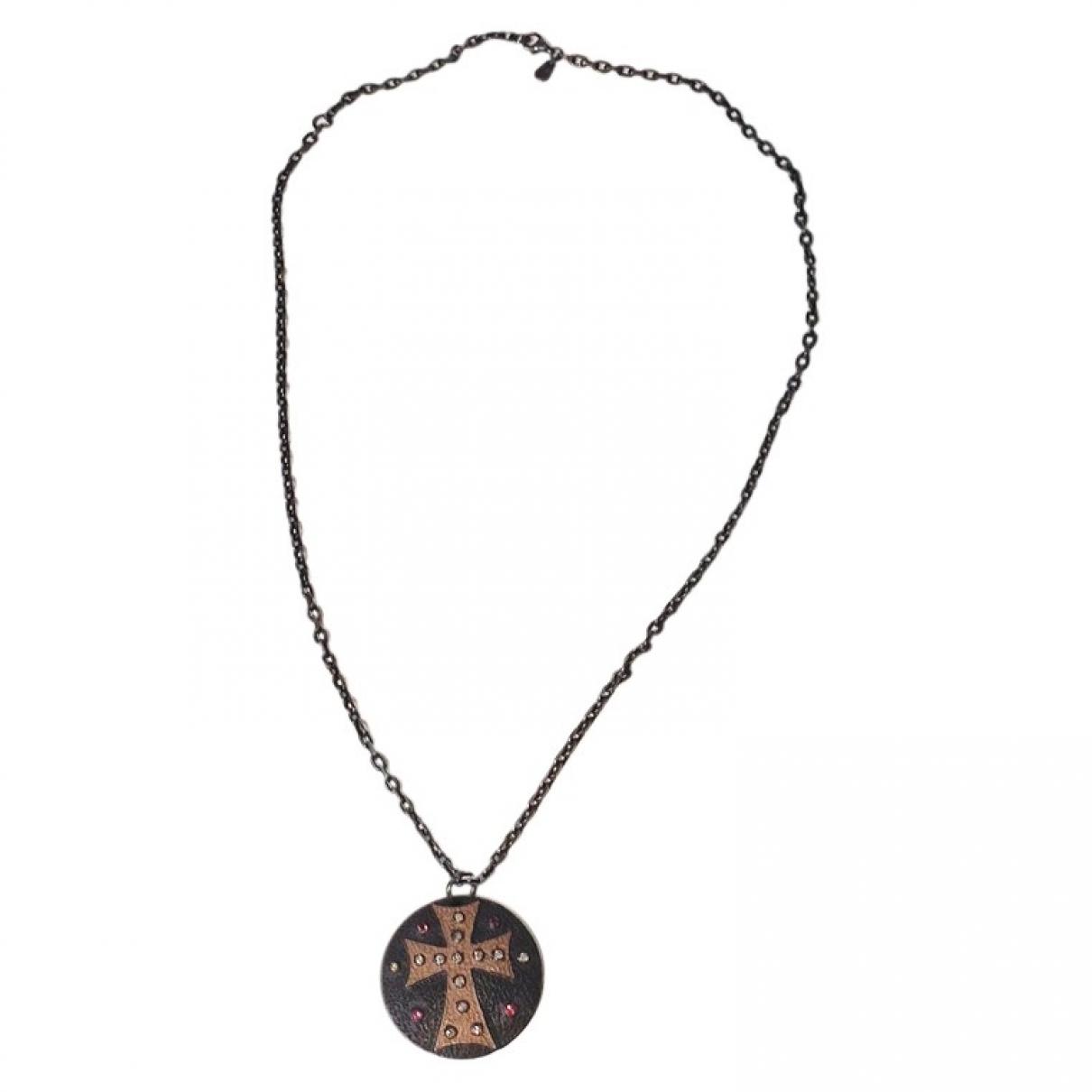 Collar Motifs Religieux de Plata Non Signe / Unsigned