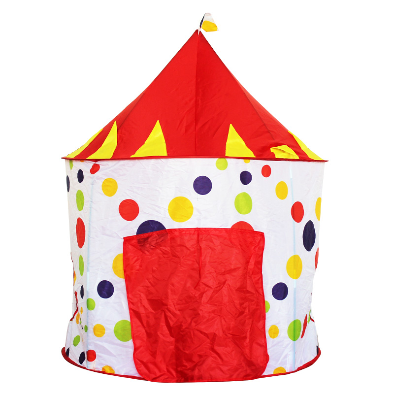 Yurt Shaped Simple Style Polyester Kids Indoor Playing Tent