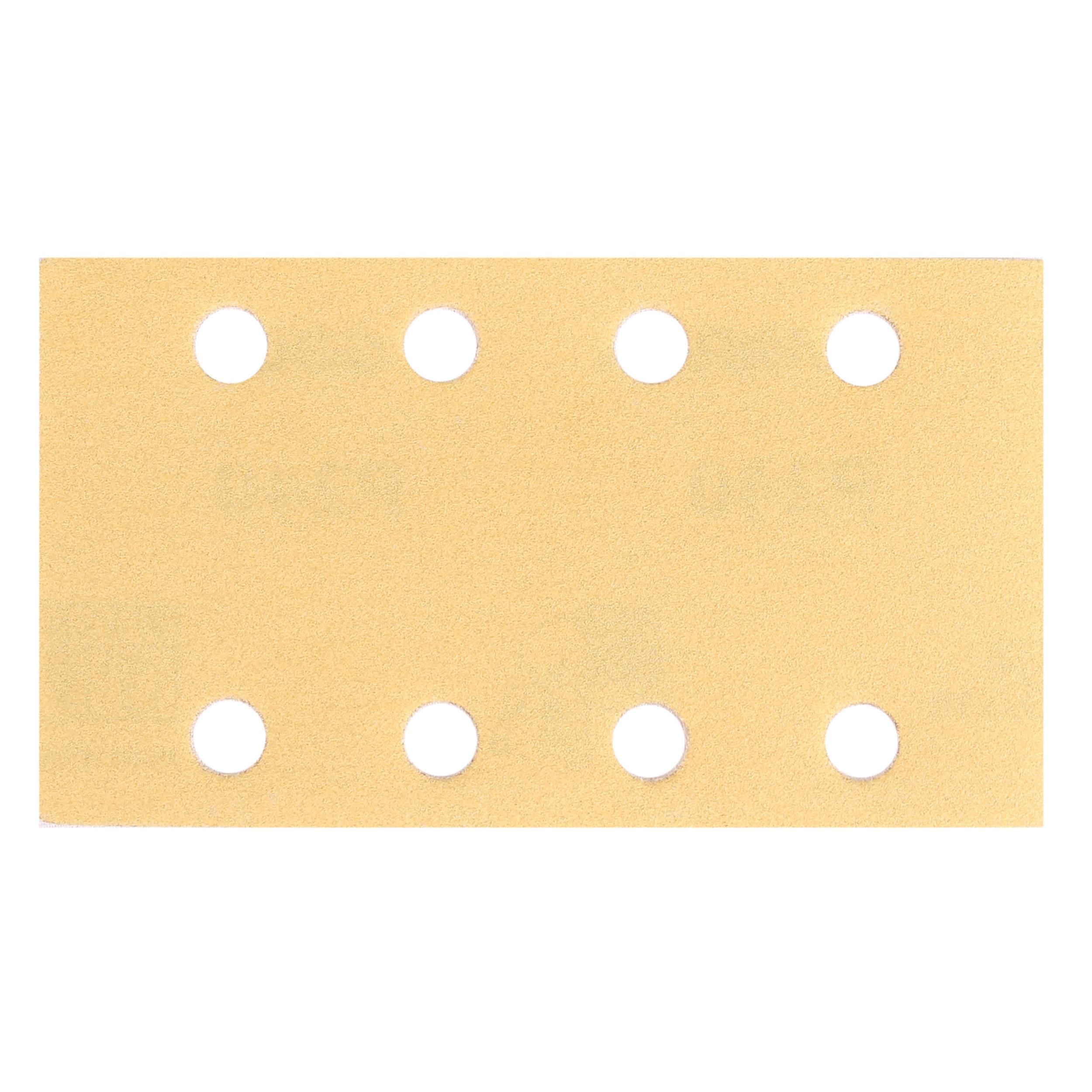 "GOLD 3""x5"" Grip Sandpaper, 8H P150, 50 Sheets/Box"