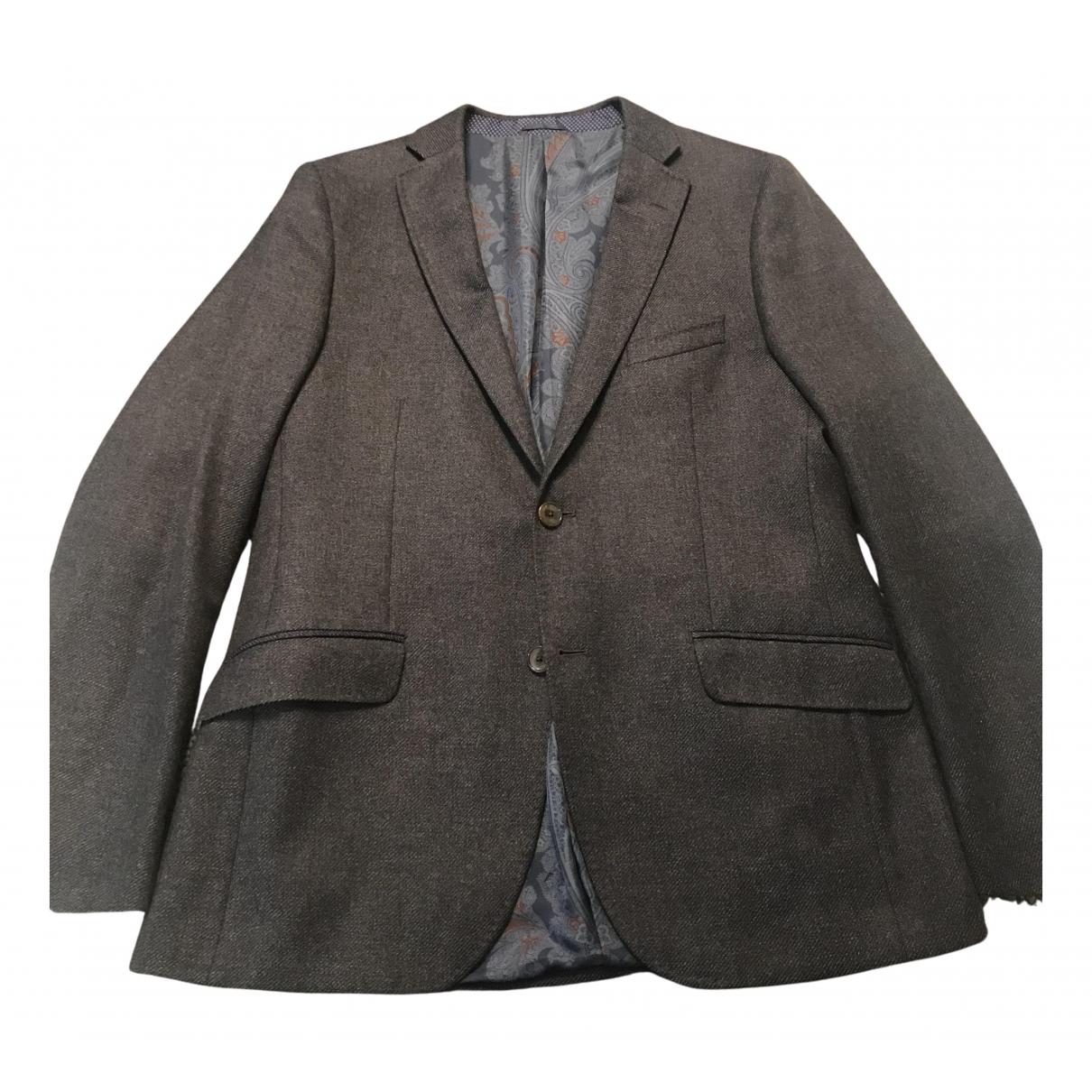 Etro N Multicolour Wool jacket  for Men 54 IT