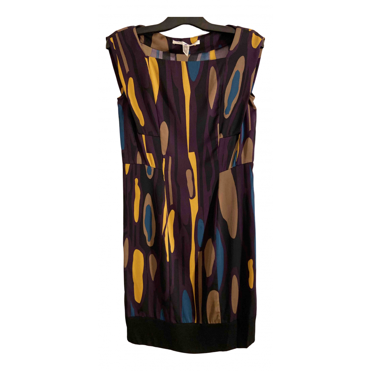 Diane Von Furstenberg \N Multicolour Silk dress for Women 4 US